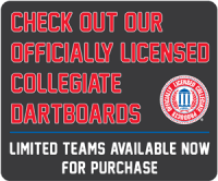 Officially Licensed Collegiate Dartboards